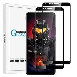 На Алиэкспресс купить стекло для смартфона tempered glass screen protector compatible for nubia red magic mars, 9 hardness hd anti-scratch anti-fingerprint bubblefree