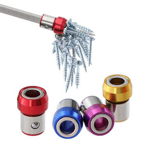 6.35mm Screwdriver Bit Magnetic Ring Metal Anti-Corrosion Strong Magnetizer Screws