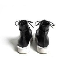 Brand Men Runway High Top Platform Shoes