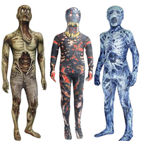 Scary Bloody Zombie Halloween Costume for Kids Skeleton Rompers Baby Girl Boy Horror Carnival Party Jumpsuit Day of The Dead