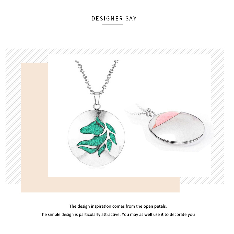 Aromatherapy Essential Oil Diffuser Locket Necklace (54)