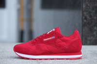 Reebok Pump Classic Retro Men Sports shoes CL LEATHER SUEDE Sneakers 2019 Originals Men's Shoes red