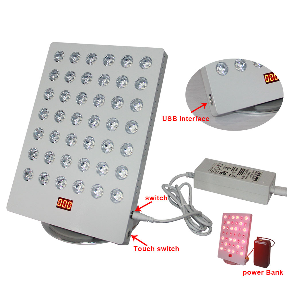 IDEA THERAPY TL Series Mini 660nm 850nm Desktop LED Red Light Therapy TL Plus With Timer Control For Skin Health Care