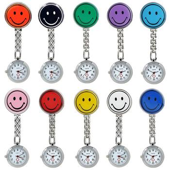 2020 New Cute Round Luminous Nurse Watch Pin Wall Charts Clock For Woman Man Fashion Waterproof Pocket Fob Watches