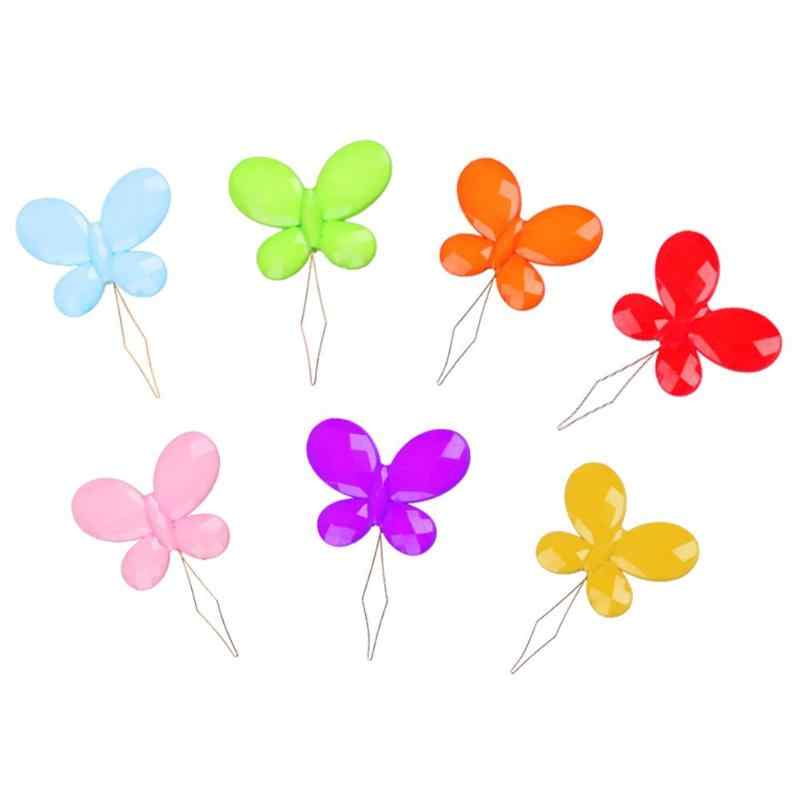 Mini Butterfly Threader Embroidery Thread Embroidery Cross Stitch Insertion Tool Simple Automatic Needle Sewing Machines Supplie