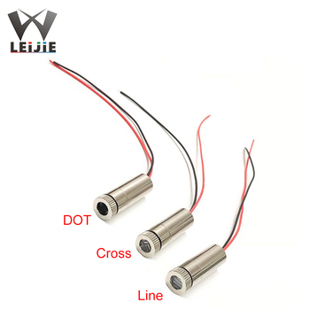 Line Focusable 12*35mm 635nm 638nm 15mW Adjustable 3V-5V Orange Red Laser Module Industrial 12mm LED LD Module focusable 635nm 5wm 10mw orange red 12x55mm laser diode module with ac adapter