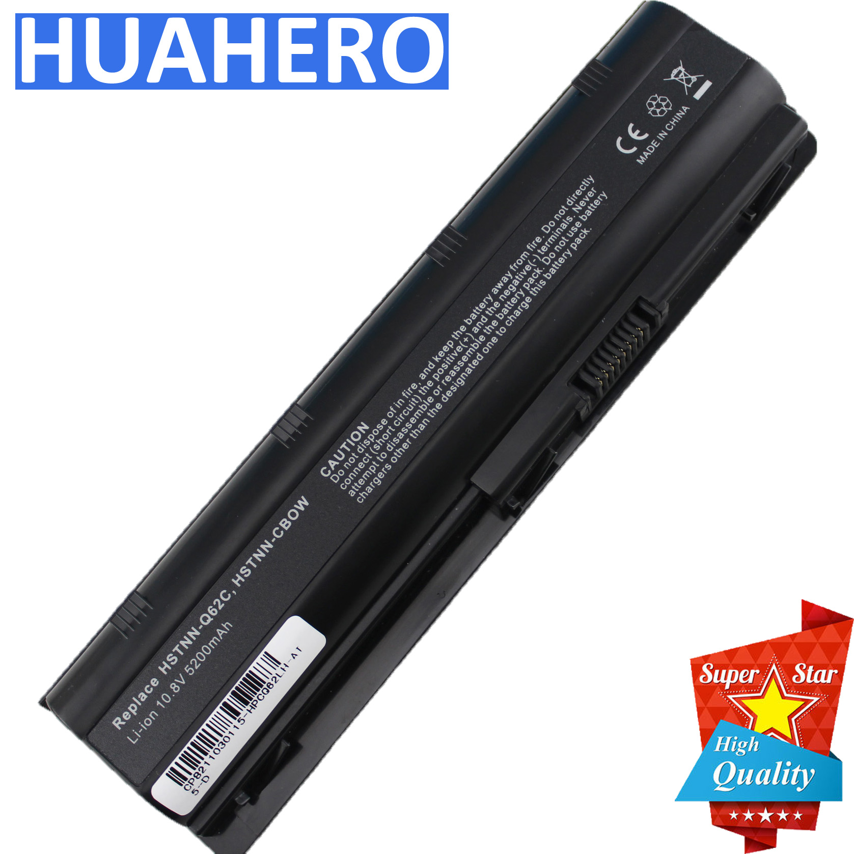 MU06 593553-001 Battery for HP 2000-425NR Notebook CQ32 CQ42 CQ56 CQ62 CQ72 G32 G42 G56 G62 DM4 G72 Laptop CQ43 MU09 593554-001 image
