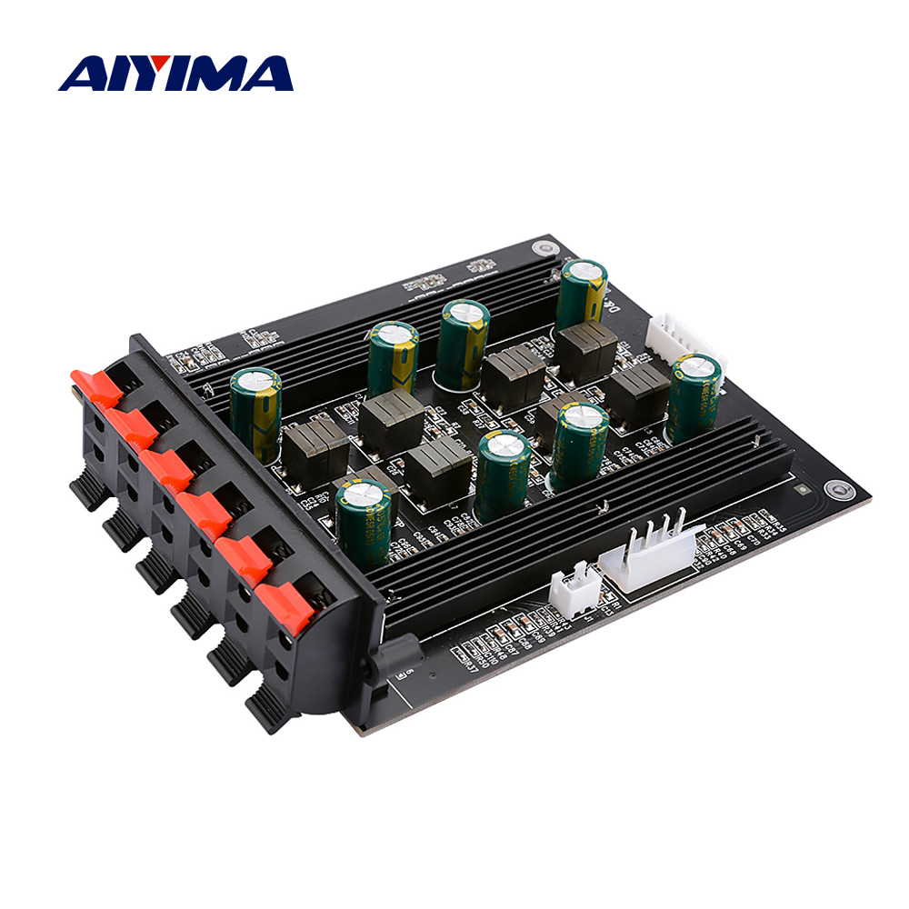 AIYIMA 5.1 Digital Amplifier Audio Board 50Wx4 100Wx2 TPA3116 Power Hifi Stereo Sound Speaker Amplifier DIY Home Theater 5.1