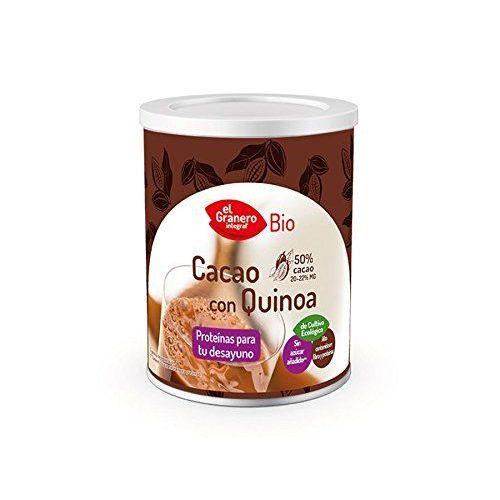 Cacao Soluble Bio Avec Quinoa 200g De Détergent En Poudre Desgrasado–El Granero Integral