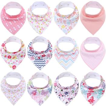 Baby Bandana Bibs Organic Cotton Baby Feeding Bibs for Drooling and Teething Soft and Absorbent Bibs Fashion Infant Bibs premium baby bandana bibs extra soft natural cotton baby drool bib for drooling and teething super absorbent baby shower gift