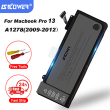 SKOWER 65.5Wh 10,95 V portátil A1278 A1322 batería para Apple Macbook Pro 13 \