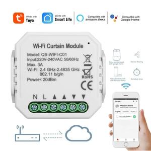 Модуль переключателя штор Tuya Smart Life с Wi-Fi для жалюзи, жалюзи, умный дом, Google Home, голосовое управление Alexa