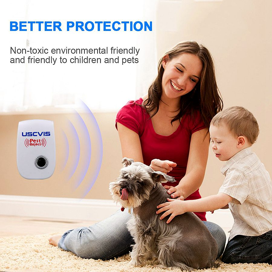 6/4/2/1pcs Ultrasonic and Anti Rodent Insect Repellents for Pest Control 7