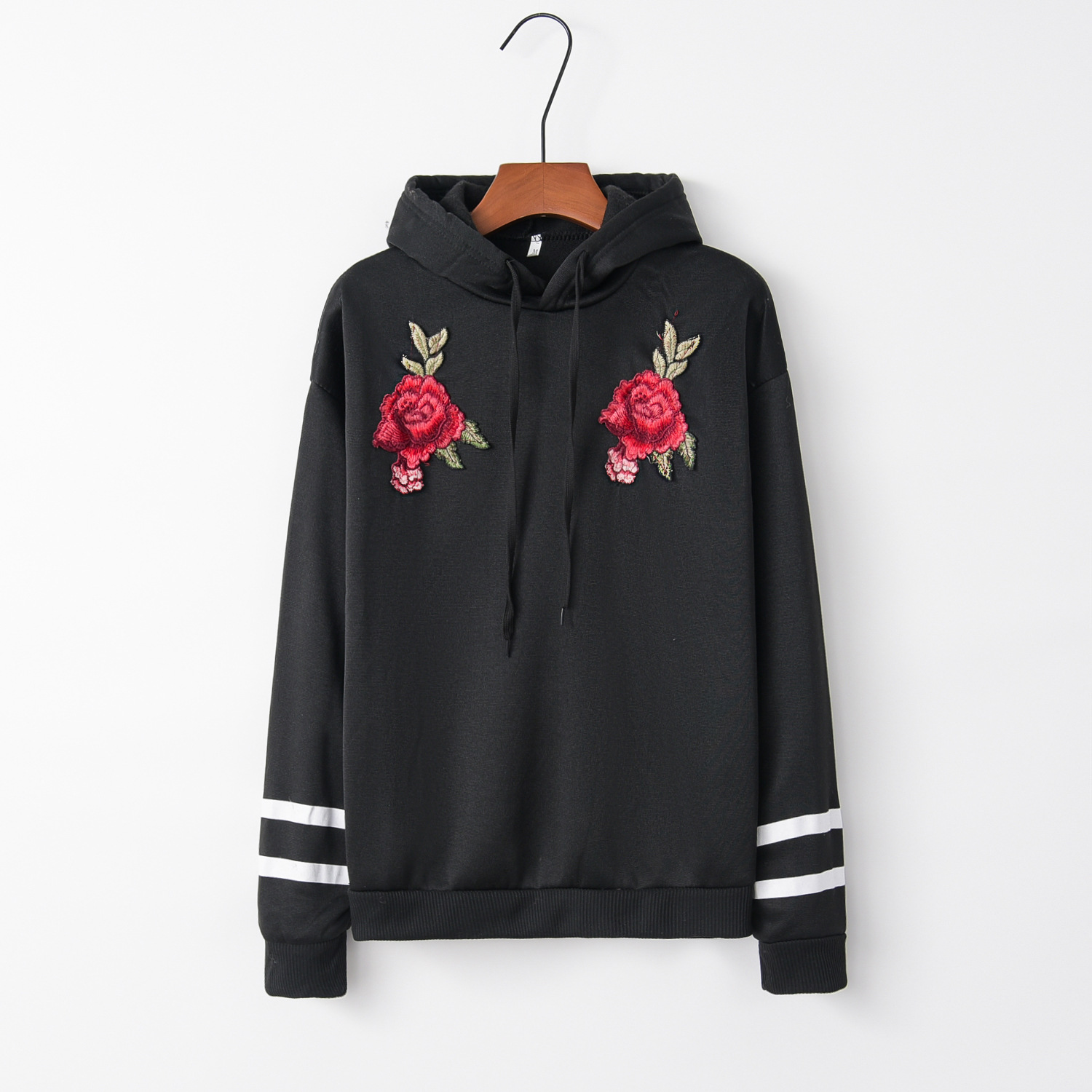 Two Rings And Flower 2020 New Design Hot Sale Hoodies Sweatshirts Women Casual Kawaii Harajuku Sweat Girls European Tops Korean