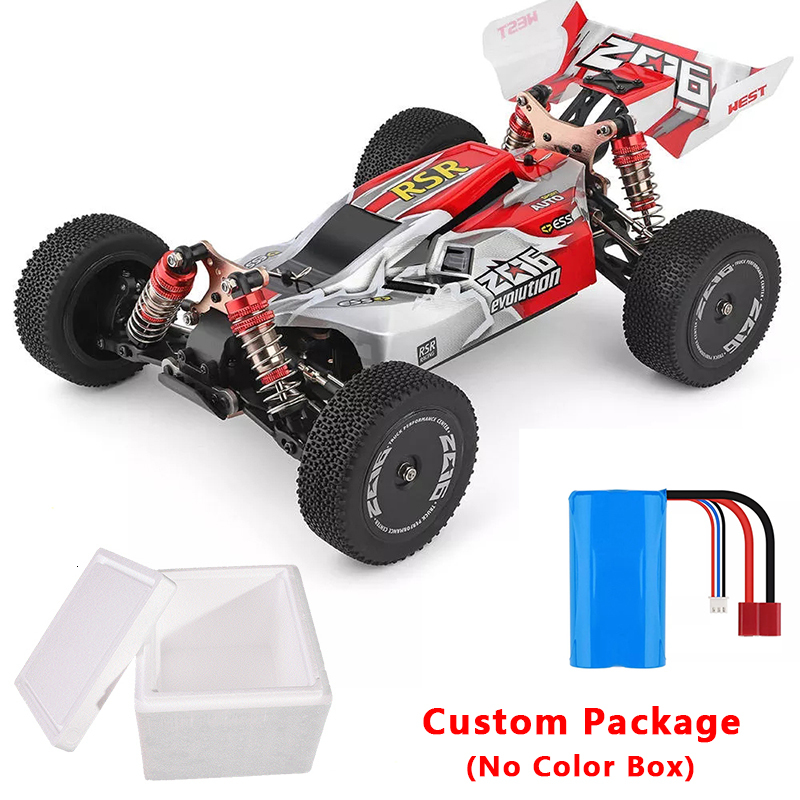 Wltoys 144001 1/14 2,4G RC Buggy 4WD High Speed Racing RC Auto Fahrzeug Modelle 60 km/h RC Racing Auto 550 Motor RC Off Road Car RTR - 6