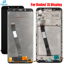 Display For Xiaomi Redmi 7A Lcd Display With Touch Screen Digitizer LCD Glass Panel Replacement For Redmi 7A LCD Display Screen new lcd display matrix for 7 dns airtab m76r tablet lcd display 1024x600 screen panel module glass replacement free shipping