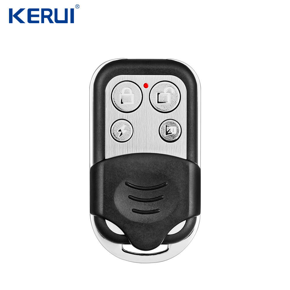 KERUI RC528 Metal  Portable Remote Control  433MHz Alarm Accessories Controller  For Home Security Alarm System Touch Keypad