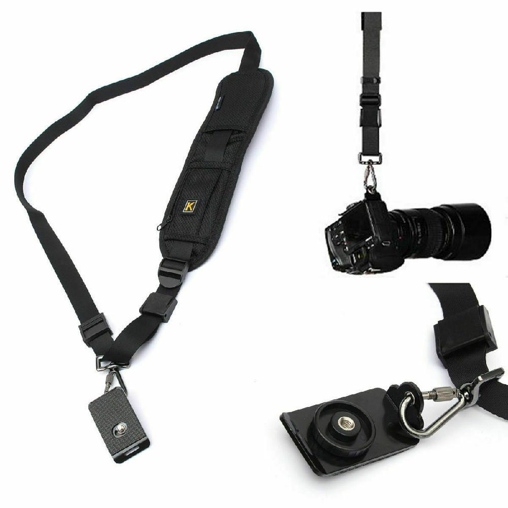 DishyKooker Quick Strap Camera Single Shoulder Belt Sling For SLR DSLR Cameras Canon Sony Nikon