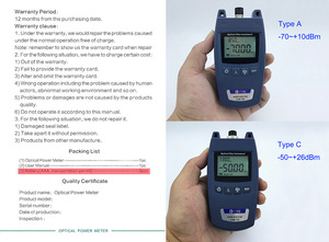 Image 5 - KING 70S Fiber Optical Power Meter Fiber Optical Cable Tester  70dBm~+10dBm