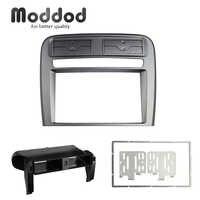 Carénage d'autoradio pour Fiat Grand Punto 2005-2009 panneau stéréo de roue gauche Kit de montage de tableau de bord Installation remontage cadre lunette