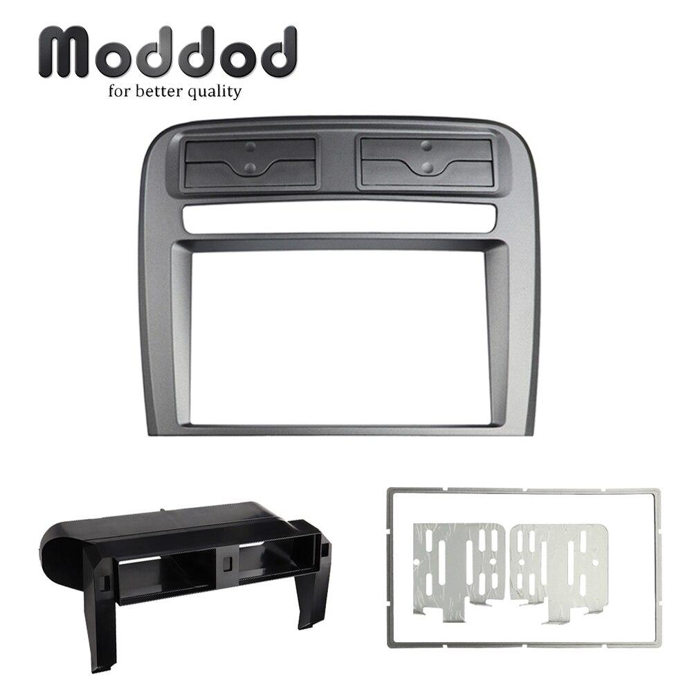 Car Radio Fascia for  Fiat Grand Punto 2005-2009 Left Wheel Stereo Panel Dash Mount Kit  Installation Refitting Frame Bezel