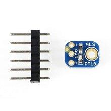 ALS-PT19 Analog Light Sensor Breakout Module High Dynamic Range Digital Light Sensor For Arduino 2748 admp401 mems microphone breakout module board for arduino universal 1 3cm 1cm