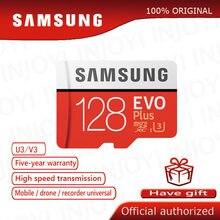 Original Samsung EVO + 128GB Class10 Micro SD Karte C10 80 MB/S SDHC SDXC UHS-1 Flash Speicher MicroSD TF karte cartao de memoria