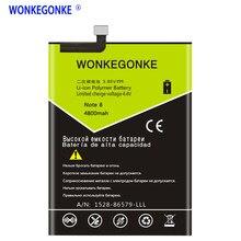 Wonkegonke para huawei hb3872a5ecw honra nota 8 bateria 4800 mah