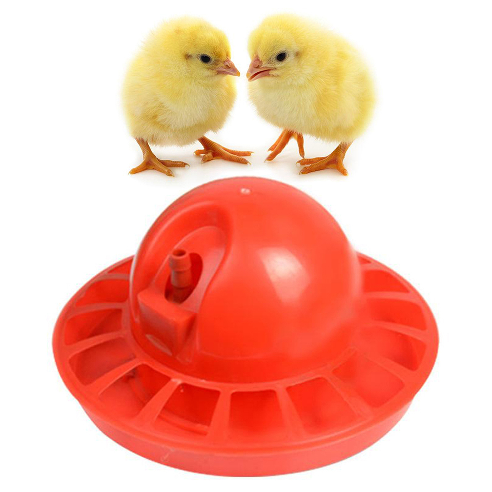 10PCS FARM PRODUCTS AUTO PRO CHICK WATERER POULTRY CHICKEN DRINKER AUTOMATIC