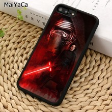 MaiYaCa REY KYLO REN LIGHTSABER Phone Case For iPhone 5 6 7 8 plus 11 Pro X XR XS Max Samsung Galaxy S7 S8 S9 S10(China)