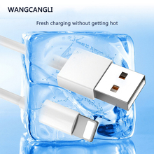 1m USB data cable sync charger cable for iPhone 11PRO MAX 6S 7 8 Plus X XS Max XR fast charging mobile phone USB cable white cafele for iphone x xr xs max 8 7 6s plus usb cable led night light zinc alloy charger cable for iphone xs max flat usb cable