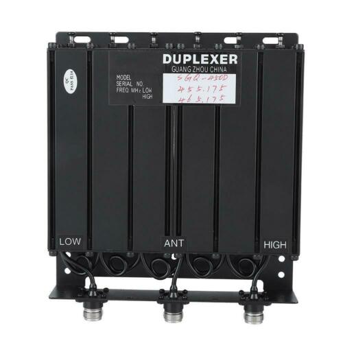 2019 50W UHF 6 Cavity Duplexer N Connector FREE Tune Radio Repeat 380-520Mhz