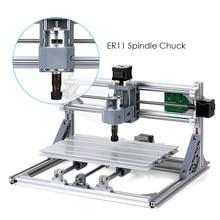 CNC 3018 5500mW laser graveur bricolage CNC routeur Kit 2-en-1 Mini Laser gravure Machine GRBL contrôle 3 axes sculpture sur bois fraisage