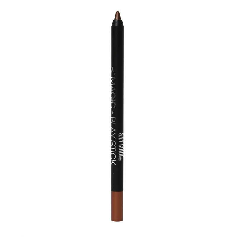 צבעוני פנינת עט גולת כותרת מקל 12 צבע אייליינר Pearlescent לטווח ארוך לא Bloming צלליות עט שוכב עט תולעי משי