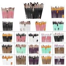 Makeup-Brushes Foundation Set Cosmetic Brushes Powder Brush 20 Pairs Kit