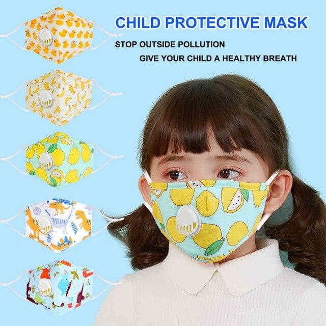 3pcs pm2.5 children face mouth mas
