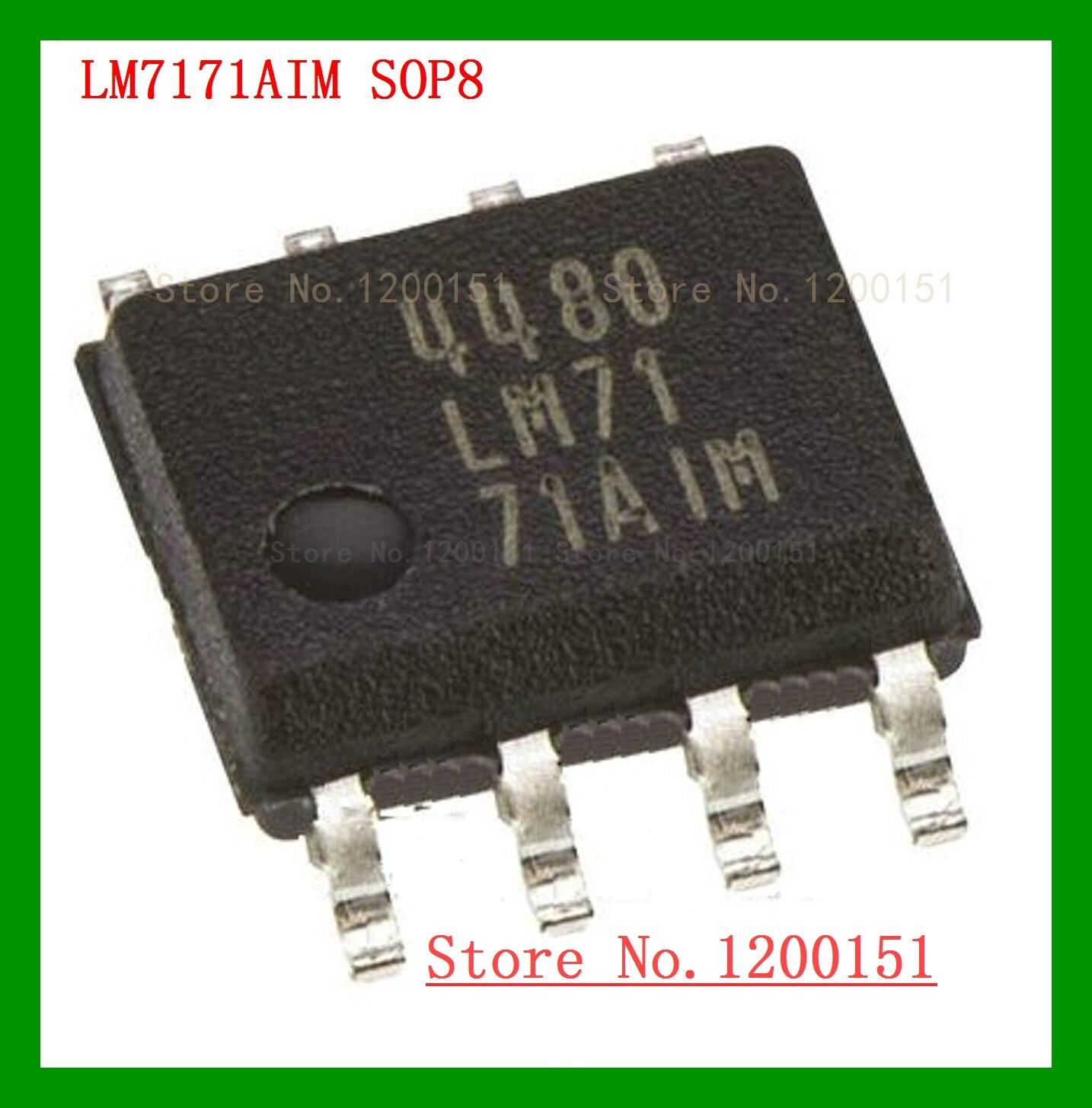 5pcs/lot LM7171 LM7171AIN LM7171BIN DIP8 LM7171AIM LM7171BIM SOP-8