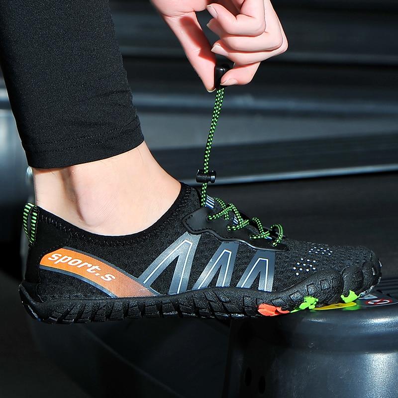 Sapatos aqua antiderrapantes para área externa, masculino