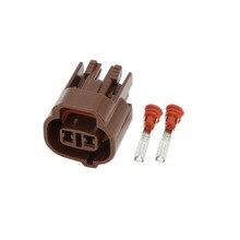 5 PCS Car waterproof connector plug 2Pin DJ7025-2-21 temperature sensor plug automotive connectors цены онлайн