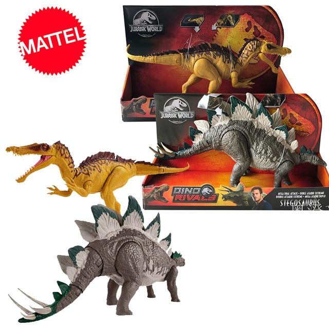 Original 37 ซม.Jurassic World 2 ขนาดใหญ่การแข่งขันไดโนเสาร์รูปแบบการกระทำของTyrannosaurusของเล่นเด็กDragon Oyuncak