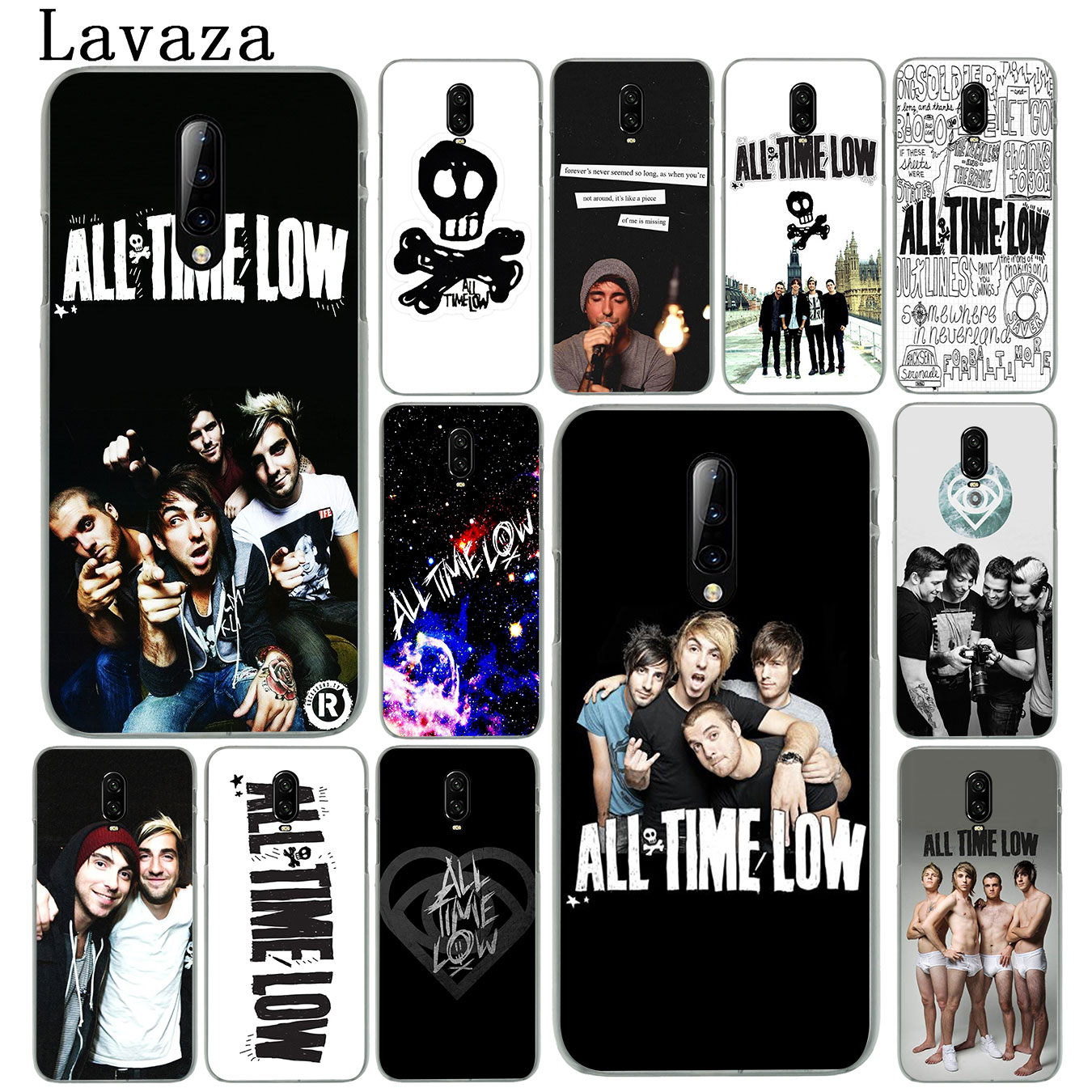 All Time Low Hard Plastic Cell Phone Case for Oneplus 7 Pro 6 6t 5 5T Cover One Plus 7Pro image