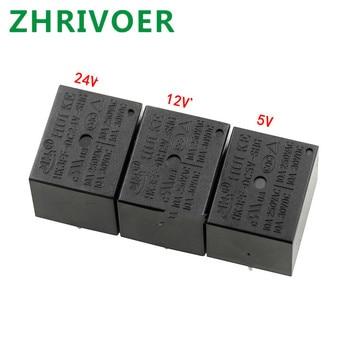 цена на 5pcs HK3FF-DC5V-SHG HK3FF-DC12V-SHG HK3FF-DC24V-SHG T73 relay