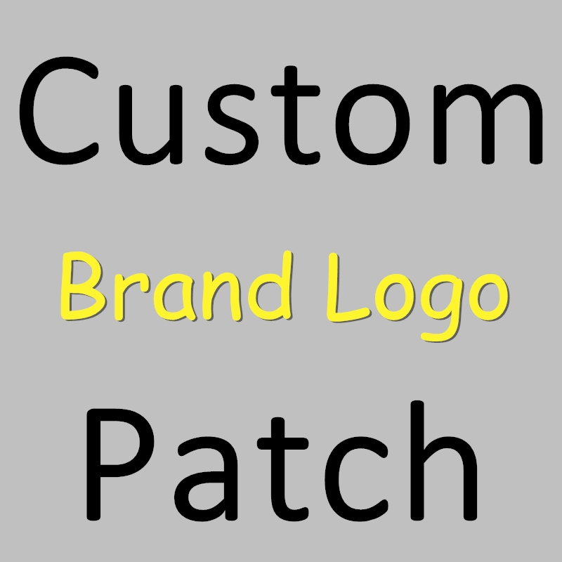 New Private Order Custom Logo Heat Transfer Iron-on Stamp Clothing Decoration DIY Patch Decals Parches Patches Stickers T-Shirt