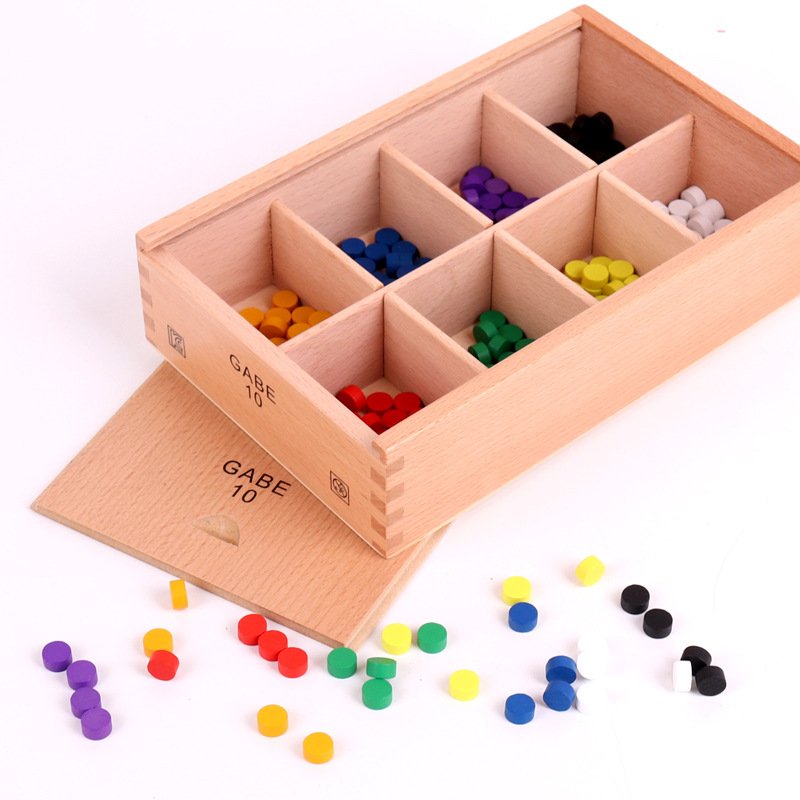 New Wooden Baby Toys Froebel GABE10 Baby Educational Toys