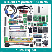 RT809H EMMC NAND FLASH USB programcı + 55 ürünleri BGA48 BGA64 BGA169 TSOP56 SOP44 DIP44 tüm adaptörler EDID kablosu + emme kalem