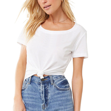 2pcs/3pcs pack summer woman T-shirt O-neck short sleeve girl