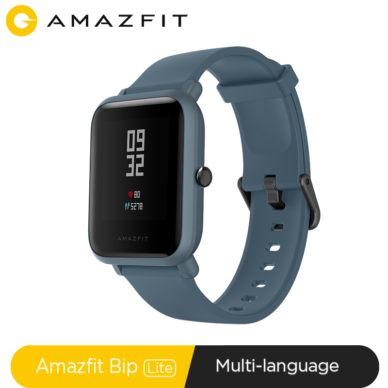 Global Version Huami Amazfit Bip Lite Smart Sports Watch 45-Day Battery Life 3ATM Smartwatch For Xiaomi Android IOS Redmi Phone