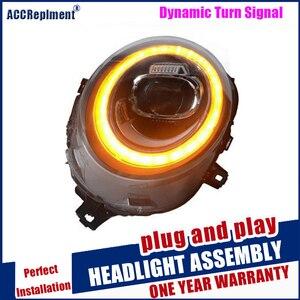 Image 5 - Scheinwerfer Für Mini F56 2014 2020 LED/Xenon Abblendlicht Fernlicht LED tagfahrlicht sequentielle drehen signal 1 paar