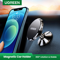 Ugreen磁気電話ホルダー × 8 サムスンS9 プラス電話で車のダッシュボード携帯電話ホルダースタンド