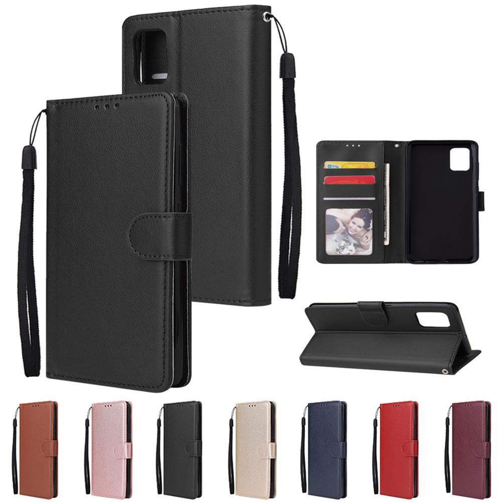 Leather Case For Samsung A51 A10 A21S A20S A20E A12 A40 A50 A71 A70 Flip Wallet Funda For Galaxy A3 A5 A6 A7 A8 2016 2017 2018
